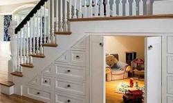 Что делать с нишей под лестницей?