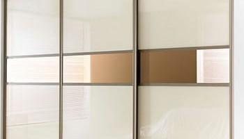 Как оформить фасад шкафа-купе