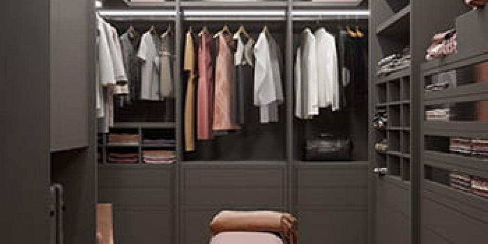 Универсальное место в квартире гардеробная