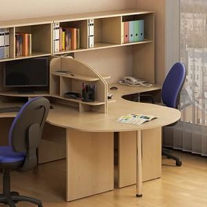 Столы с перегородкой (комплект) Атрибут 25