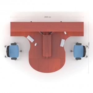 Столы с перегородкой (комплект) Атрибут 17