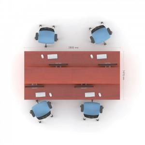 Столы с перегородкой (комплект) Атрибут 9