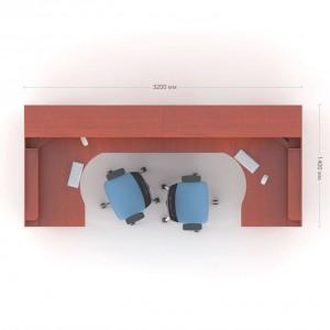 Столы с перегородками (комплект) Атрибут 8