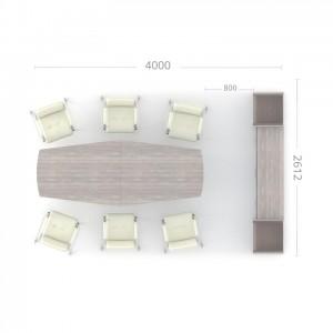 Конференц зал (комплект) Идеал 10