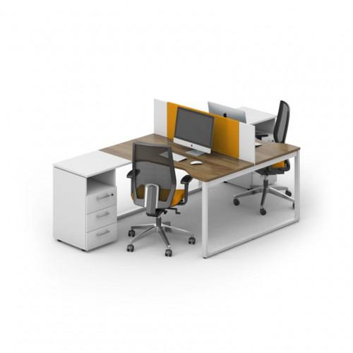 Столы с перегородками (комплект) Джет 8