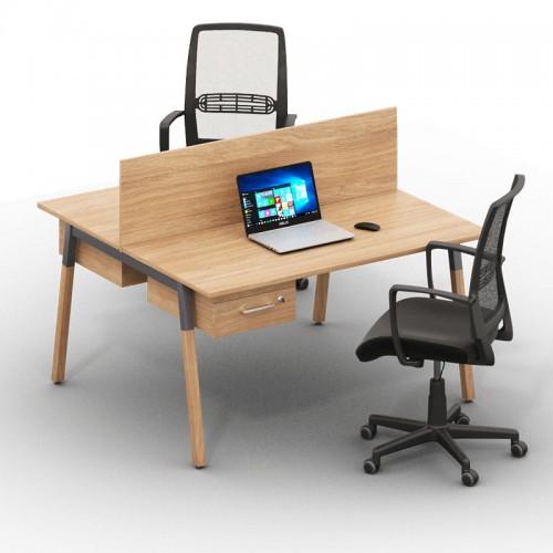Столы с перегородками (комплект) Джет Вуд 9
