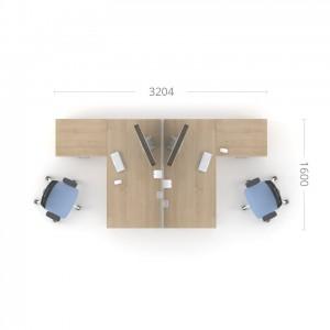 Столы с перегородкой (комплект) Озон 1
