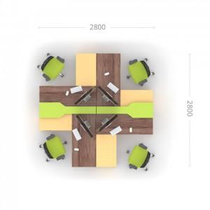 Комплект столів Прайм 6