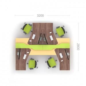 Комплект столів Прайм 5