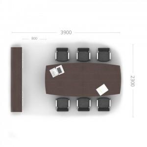 Конференц зал (комплект) Рэй 10