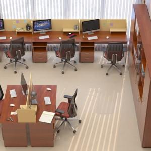 Кабінет персоналу (комплект) Сенс 13
