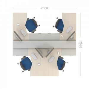 Комплект столов Сенс 6
