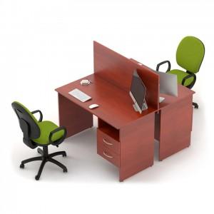 Столы с перегородками (комплект) Сенс 4