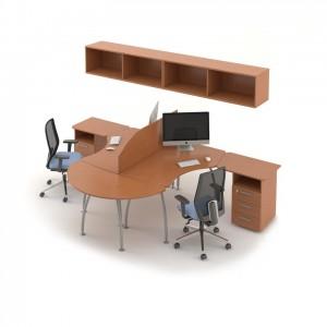 Столы с перегородками (комплект) Техно-Плюс 5