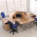 Столы с перегородками (комплект) Техно-Плюс 14