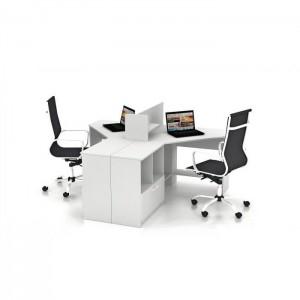 Столы с перегородками (комплект) Симпл 11