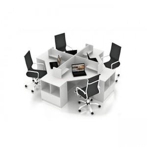 Столы с перегородками (комплект) Симпл 14