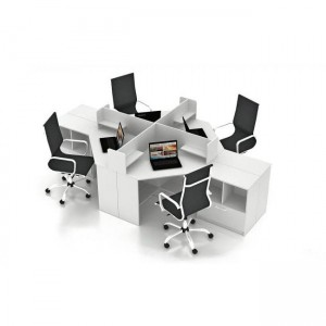 Столы с перегородками (комплект) Симпл 15