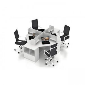 Столы с перегородками (комплект) Симпл 16