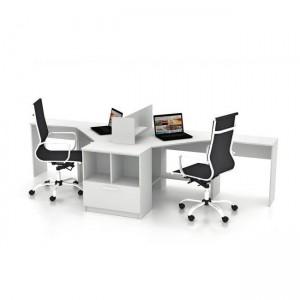 Столы с перегородками (комплект) Симпл 8