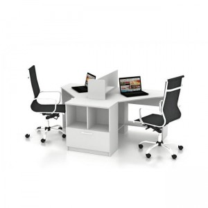 Столы с перегородками (комплект) Симпл 9