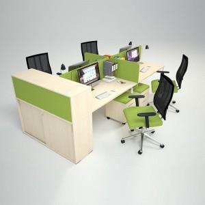 Столы с перегородками (комплект) Меган 12