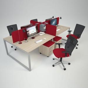 Столы с перегородками (комплект) Меган 54