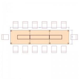 Конференц стол Промо Топ 33/913