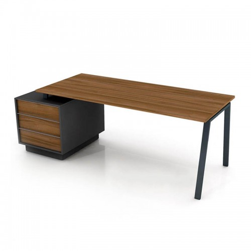 Стол офисный тумбовый Промо Топ r33-6s